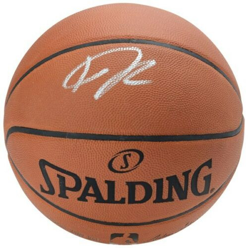 GIANNIS ANTETOKOUNMPO Autographed Milwaukee Bucks Authentic Spalding Basketball FANATICS
