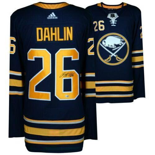 RASMUS DAHLIN Autographed Buffalo Sabres Authentic Blue Adidas Jersey FANATICS