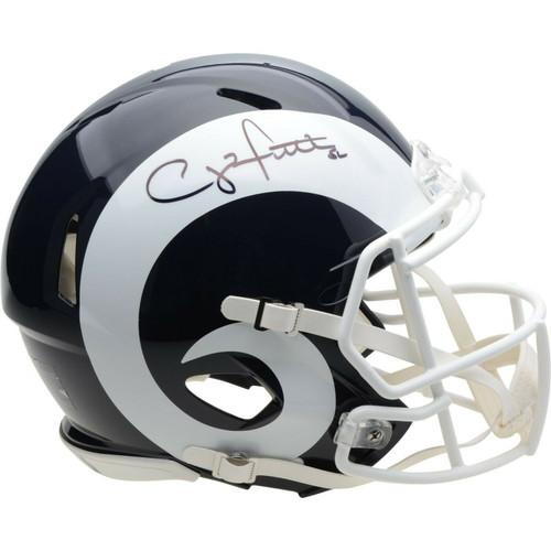CLAY MATTHEWS Autographed Los Angeles Rams Speed Authentic Helmet FANATICS