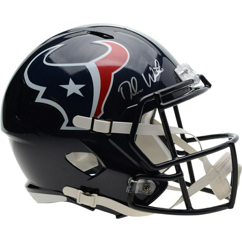 DESHAUN WATSON Autographed Houston Texans Speed Helmet FANATICS
