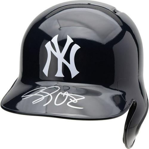 LUKE VOIT Autographed New York Yankees Batting Helmet FANATICS