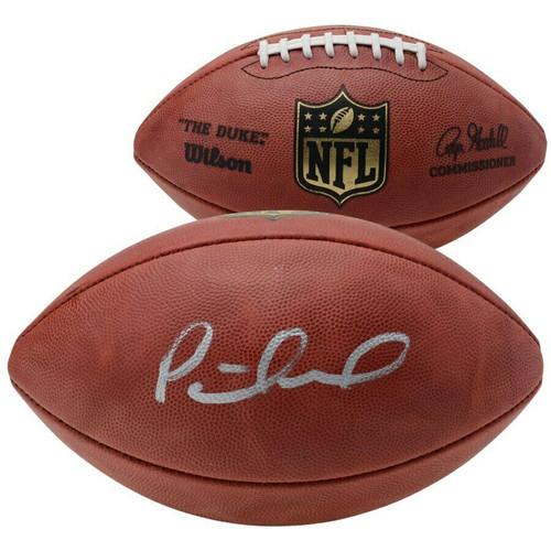 PATRICK MAHOMES Autographed Kansas City Chiefs NFL Official Football FANATICS