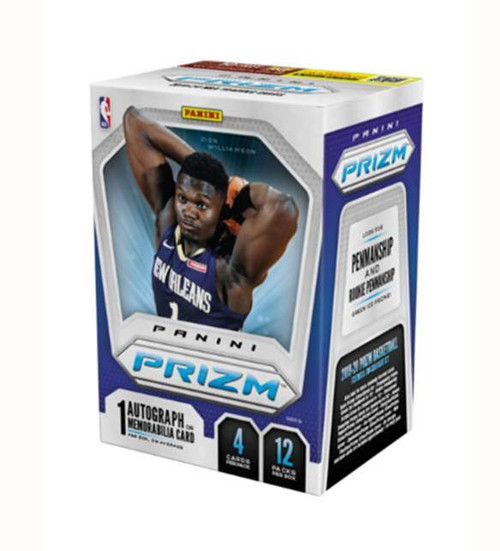 2019-20 Panini Prizm Basketball Factory Sealed trading cards PANINI - (1 Box: 12 Packs in box)