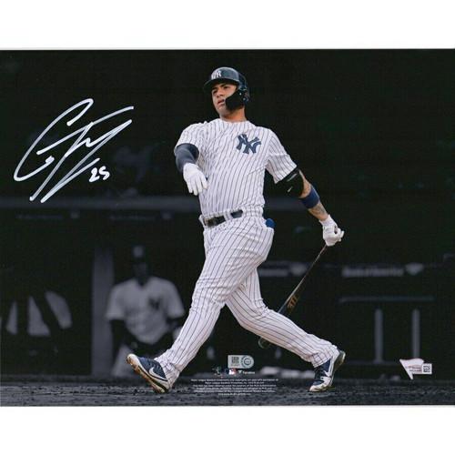 GLEYBER TORRES Autographed New York Yankees Spotlight 11x14 Photograph FANATICS