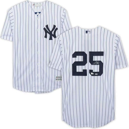 GLEYBER TORRES Autographed New York Yankees Pinstripe Jersey FANATICS