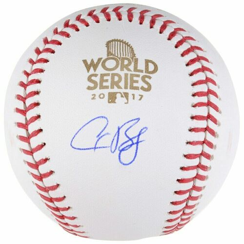ALEX BREGMAN Autographed Houston Astros 2017 World Series Baseball FANATICS