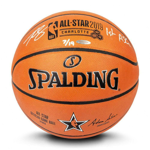 "BEN SIMMONS Autographed ""1st ASG"" Authentic 2019 NBA All Star Basketball UDA LE"