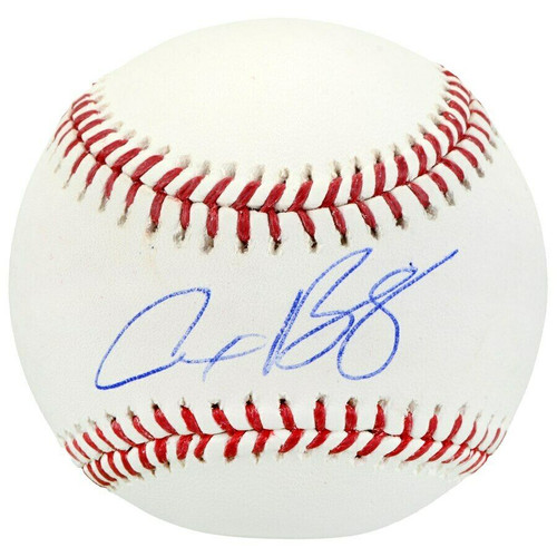 ALEX BREGMAN Autographed Houston Astros Official Baseball FANATICS