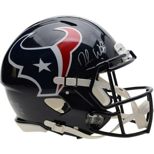 DESHAUN WATSON Autographed Houston Texans Authentic Speed Helmet FANATICS