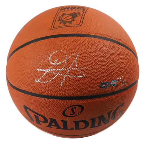 DEANDRE AYTON Autographed Phoenix Suns Logo Authentic Basketball GDL LE 22/50