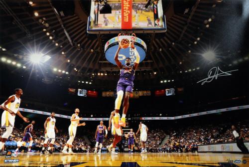 """DEANDRE AYTON Autographed Suns """"Slam Dunk"""" 16"""" x 24"""" Photograph GDL LE 1/122"""