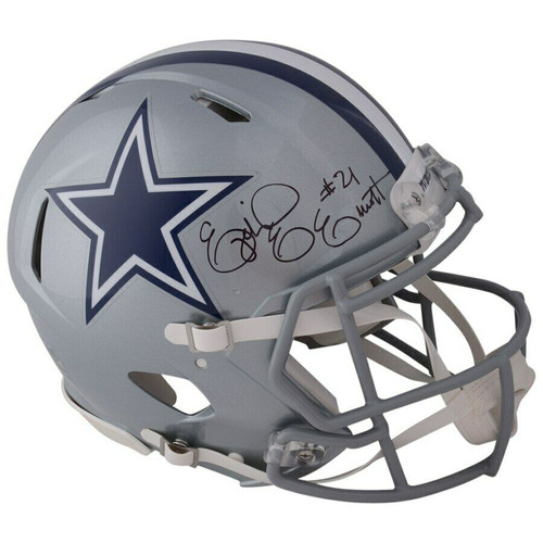 EZEKIEL ELLIOTT Autographed Dallas Cowboys Speed Authentic Helmet FANATICS