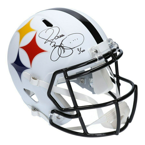 JEROME BETTIS Autographed Pittsburgh Steelers AMP Speed Full Size Helmet FANATICS