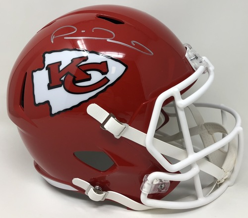PATRICK MAHOMES Kansas City Chiefs Super Bowl LIV Champions Autographed Riddell Super Bowl LIV Champions Speed Replica Helmet FANATICS
