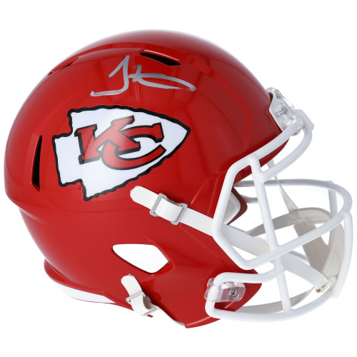 TYREEK HILL Autographed Kansas City Chiefs Speed Full Size Helmet FANATICS