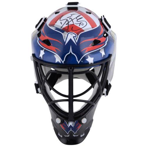 BRADEN HOLTBY Autographed Washington Capitals Mini Goalie Mask FANATICS