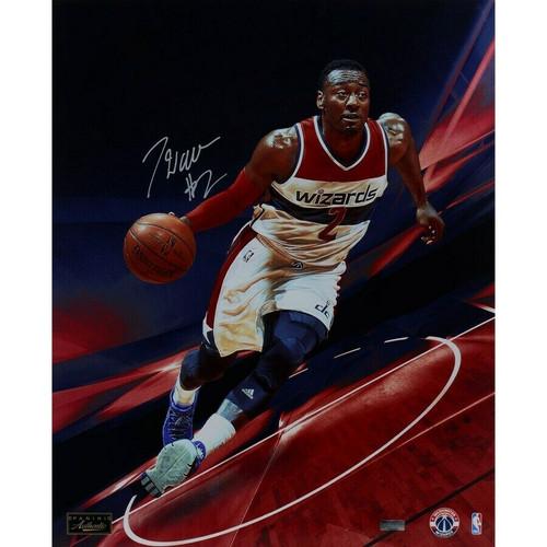 "JOHN WALL Autographed Washington Wizards ""Quickness"" 16"" x 20"" Photograph PANINI LE 22"