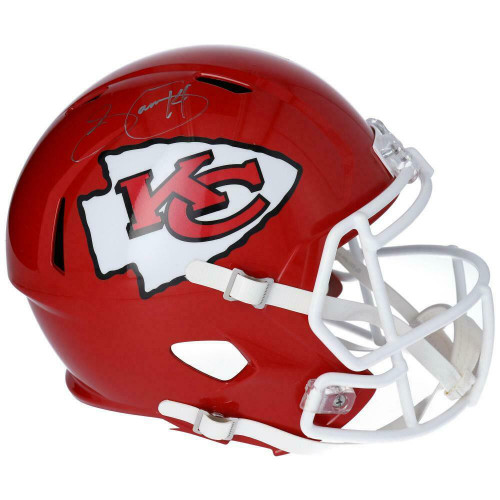 SAMMY WATKINS Autographed Kansas City Chiefs Super Bowl Logo Full Size Helmet FANATICS