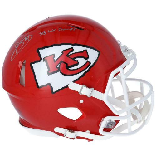 SAMMY WATKINS Autographed Kansas City Chiefs SB LIV Champs SB Logo Speed Authentic Helmet FANATICS