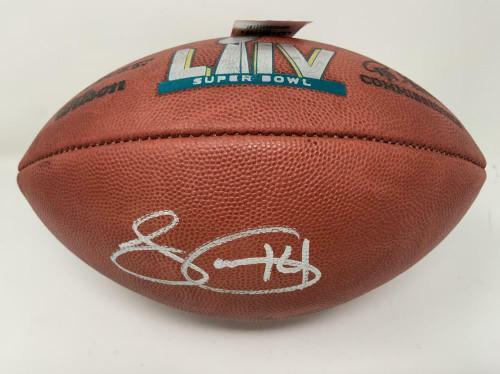 SAMMY WATKINS Autographed Kansas City Chiefs Official Super Bowl LIV Football FANATICS