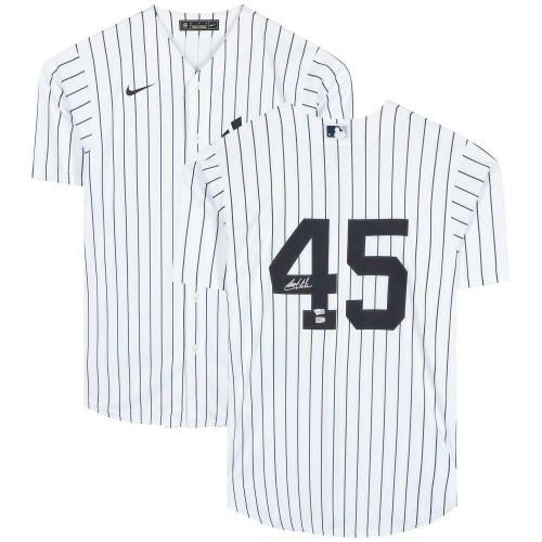 GERRIT COLE Autographed New York Yankees Home Jersey FANATICS