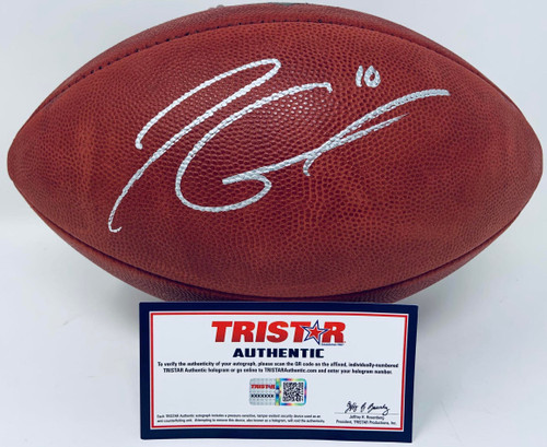 JIMMY GAROPPOLO Autographed San Francisco 49ers Official NFL Duke Football TRISTAR