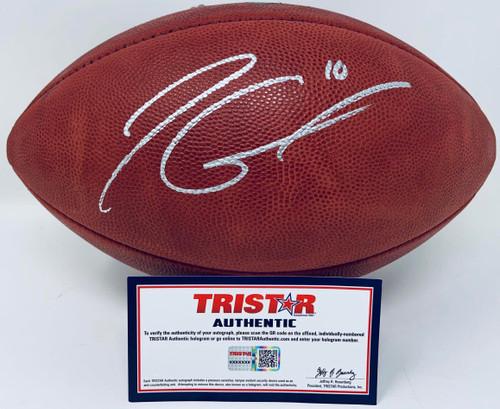 JIMMY GAROPPOLO Autographed San Francisco 49ers Official NFL Duke Football TRISTAR