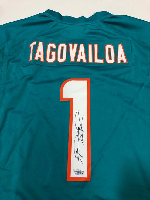 TUA TAGOVAILOA Autographed Miami Dolphins Nike Game Jersey FANATICS