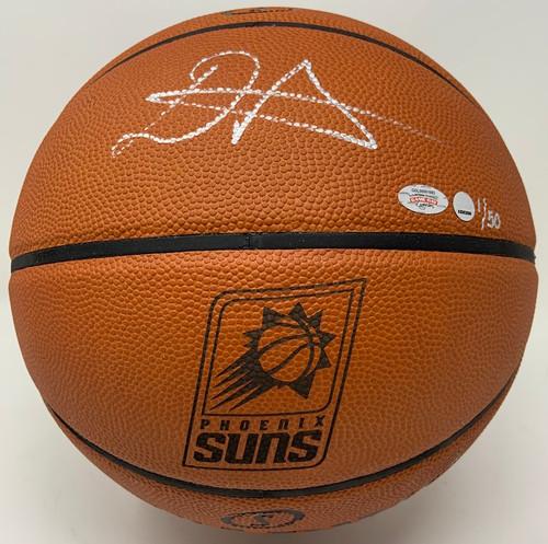 DEANDRE AYTON Autographed Phoenix Suns Logo Authentic Basketball GDL LE 1/50