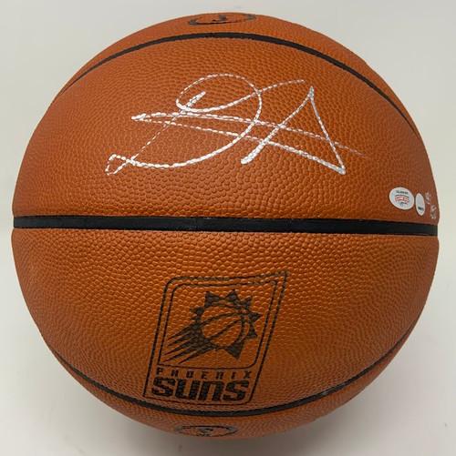 DEANDRE AYTON Autographed Phoenix Suns Logo Authentic Basketball GDL LE 18/50