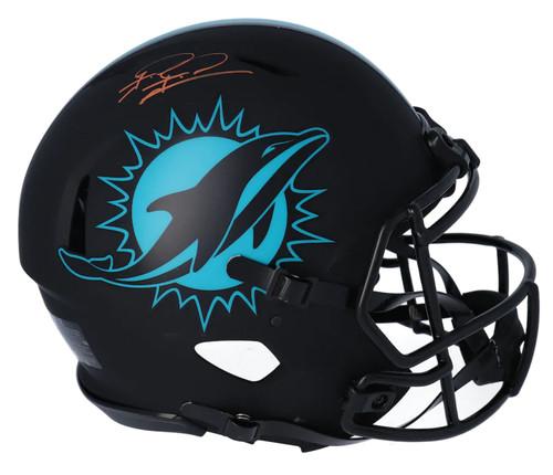 TUA TAGOVAILOA Autographed Miami Dolphins Eclipse Authentic Helmet FANATICS