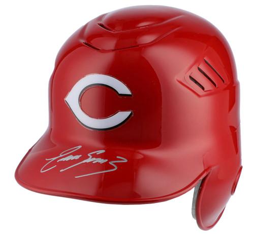 EUGENIO SUAREZ Autographed Cincinnati Reds Batting Helmet FANATICS