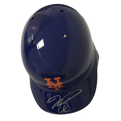 MIKE PIAZZA Autographed New York Mets Batting Helmet FANATICS