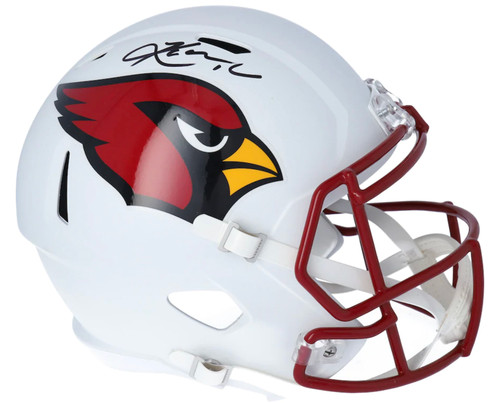 KYLER MURRAY Autographed Arizona Cardinals White Matte Full Size Speed Helmet FANATICS
