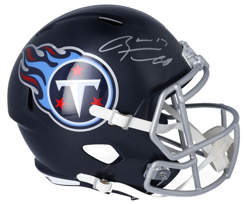 RYAN TANNEHILL Autographed Tennessee Titans Full Size Speed Helmet FANATICS