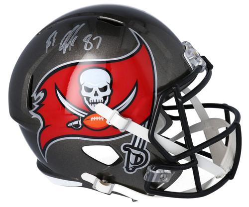 ROB GRONKOWSKI Autographed Tampa Bay Buccaneers Full Size Speed Helmet FANATICS