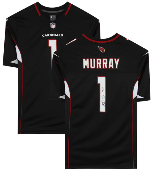"KYLER MURRAY Autographed ""19 ROY"" Arizona Cardinals Black Nike Game Jersey FANATICS"