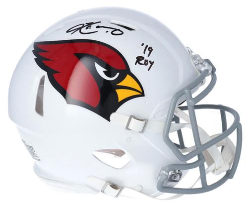 "KYLER MURRAY Autographed ""19 ROY"" Arizona Cardinals Authentic Speed Helmet FANATICS"