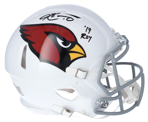 "KYLER MURRAY Autographed ""19 ROY"" Arizona Cardinals Authentic Speed Helmet FANATICS"