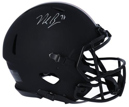 NICK BOSA Autographed Ohio State Buckeyes Authentic Speed Eclipse Helmet FANATICS