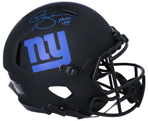 "LAWRENCE TAYLOR Autographed ""HOF 99"" Eclipse Authentic Speed Helmet FANATICS"