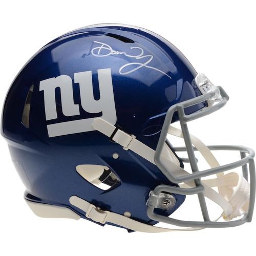 DANIEL JONES Autographed New York Giants Speed Authentic Helmet FANATICS
