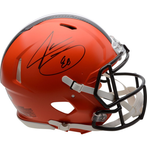 JARVIS LANDRY Autographed Cleveland Browns Speed Authentic Helmet FANATICS