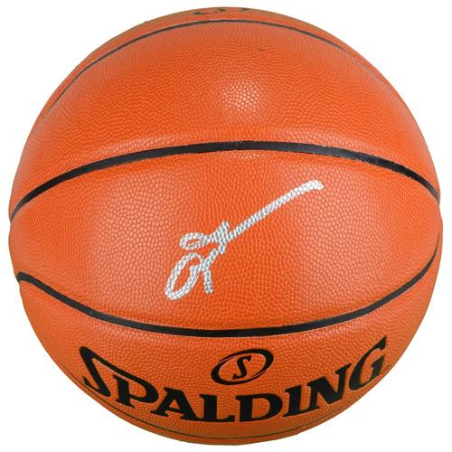 ALLEN IVERSON Autographed Spalding Game Ball Series Basketball FANATICS