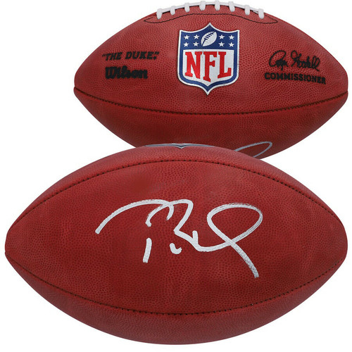 TOM BRADY Autographed New England Patriots Duke Official Football FANATICS