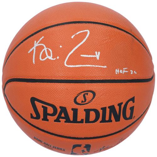 "KEVIN GARNETT Autographed ""HOF 20"" Minnesota Timberwolves Spalding Basketball FANATICS"
