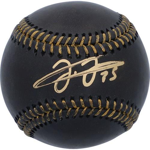FRANK THOMAS Autographed Chicago White Sox Black Leather Baseball FANATICS