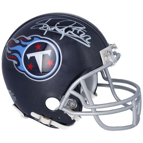 DERRICK HENRY Tennessee Titans Autographed Riddell Pro Mini Helmet FANATICS