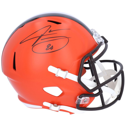 JARVIS LANDRY Autographed Cleveland Browns Full Size Speed Helmet FANATICS