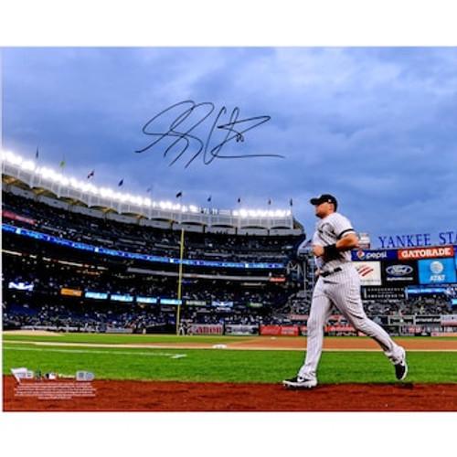 "LUKE VOIT Autographed New York Yankees Stadium 16"" x 20"" Photograph FANATICS"
